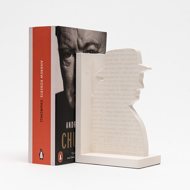 Winston Churchill Book End