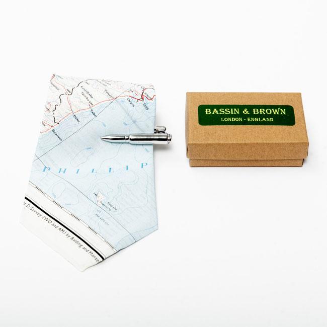 Silver Bullet Tie Clip