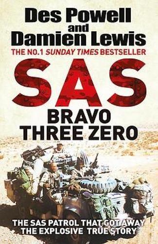 SAS Bravo Three Zero, Des Powell Author  Damien Lewis