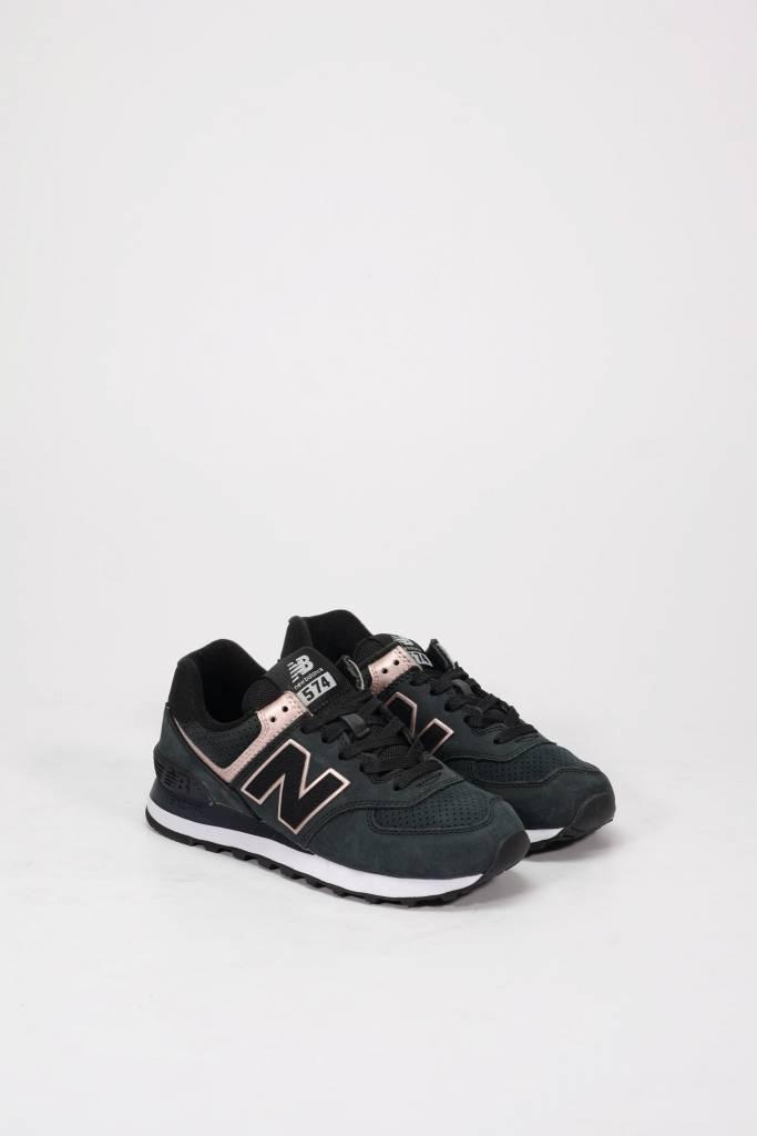 New balance 574 black/pink