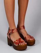 Factory Store Muriel Red Python