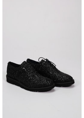 Factory Store Lauren Black Glitter