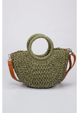 Factory Store Mini Basket Celeste olive