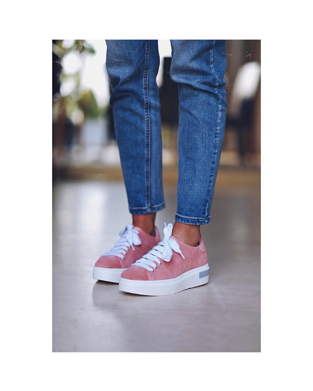 Baskets rose femme Nouvelle collection Factory Store