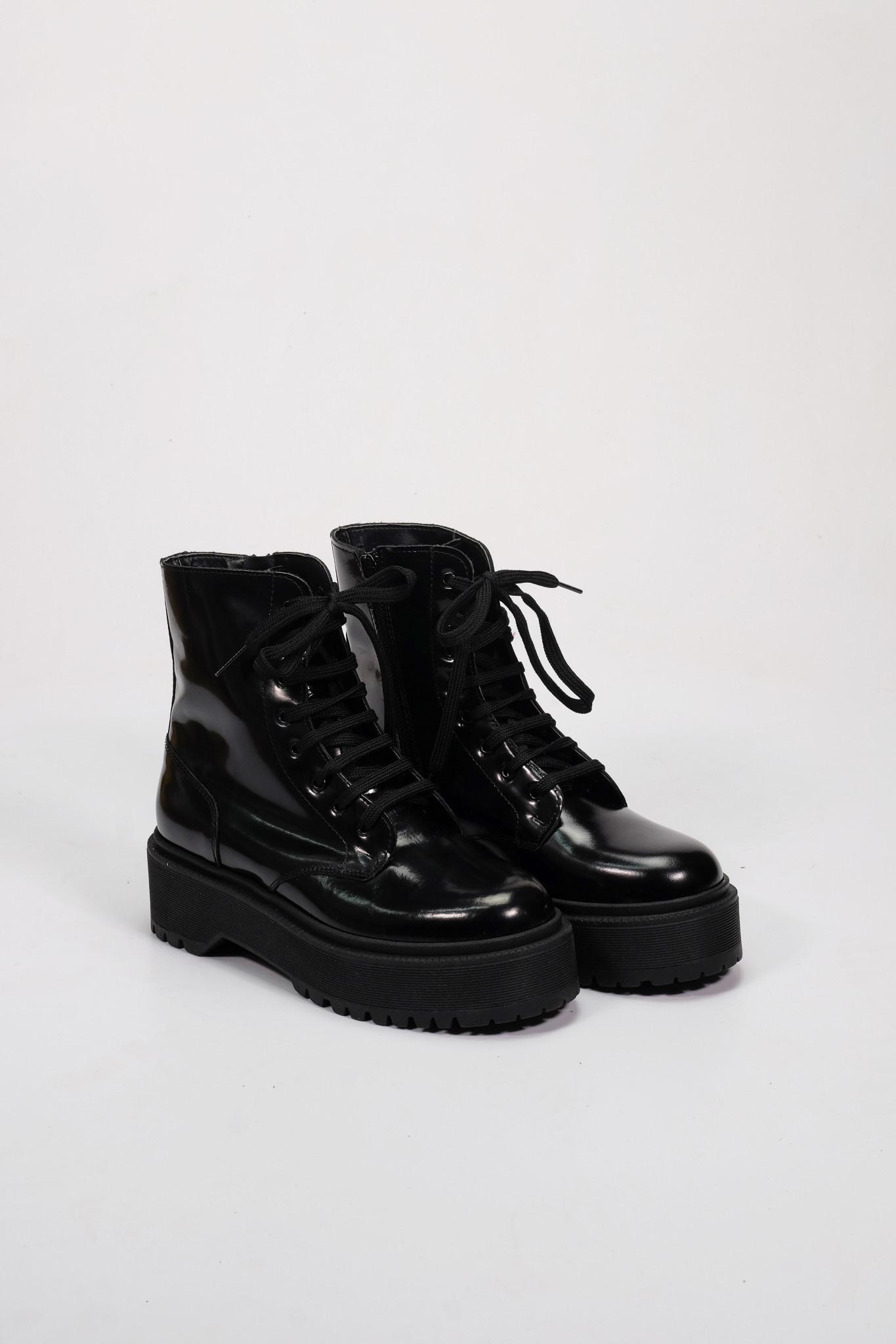 Factory Store Lima zwart glanzend