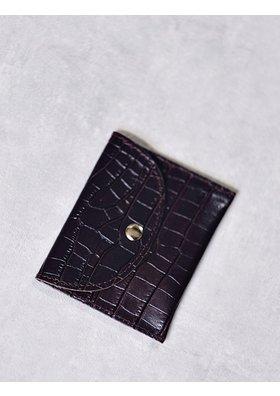 Factory Store Bordeaux Card Holder
