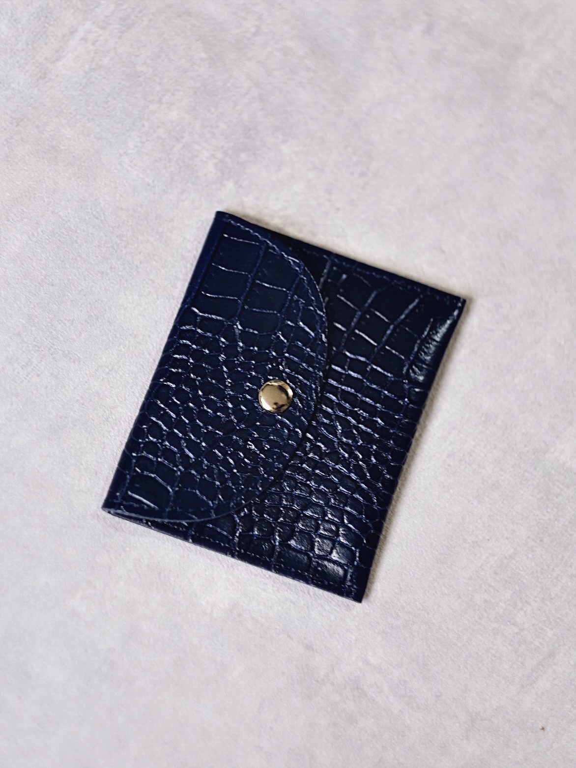 Factory Store Navy wallet