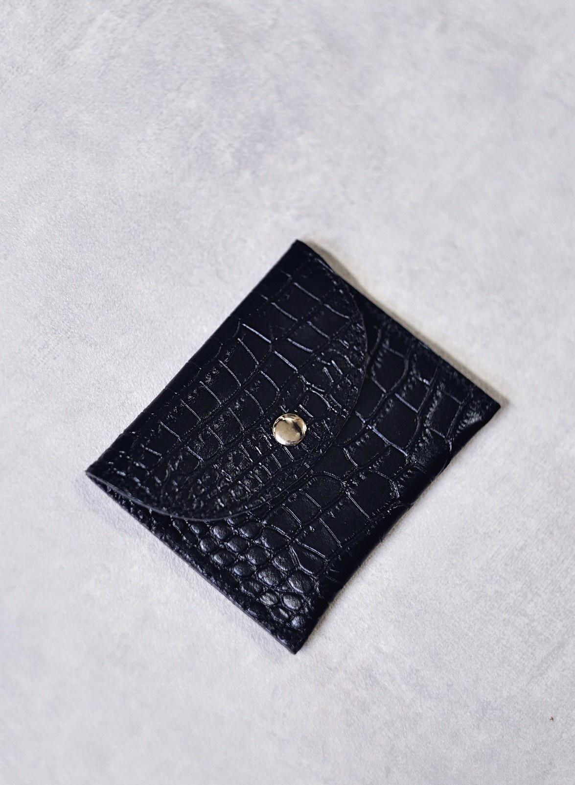 Factory Store Black Card Holder