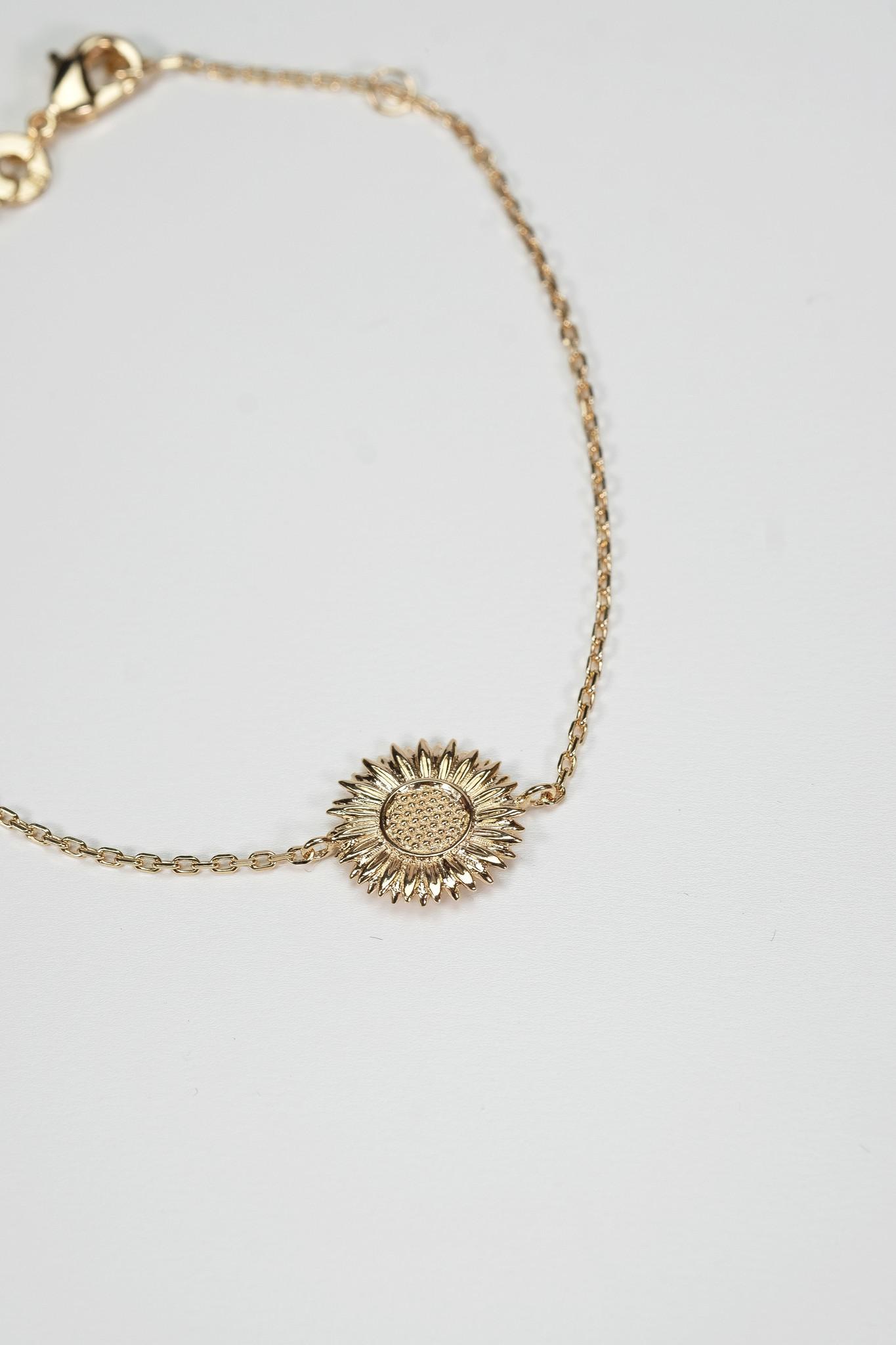 Factory Store Sunflower Bracelet