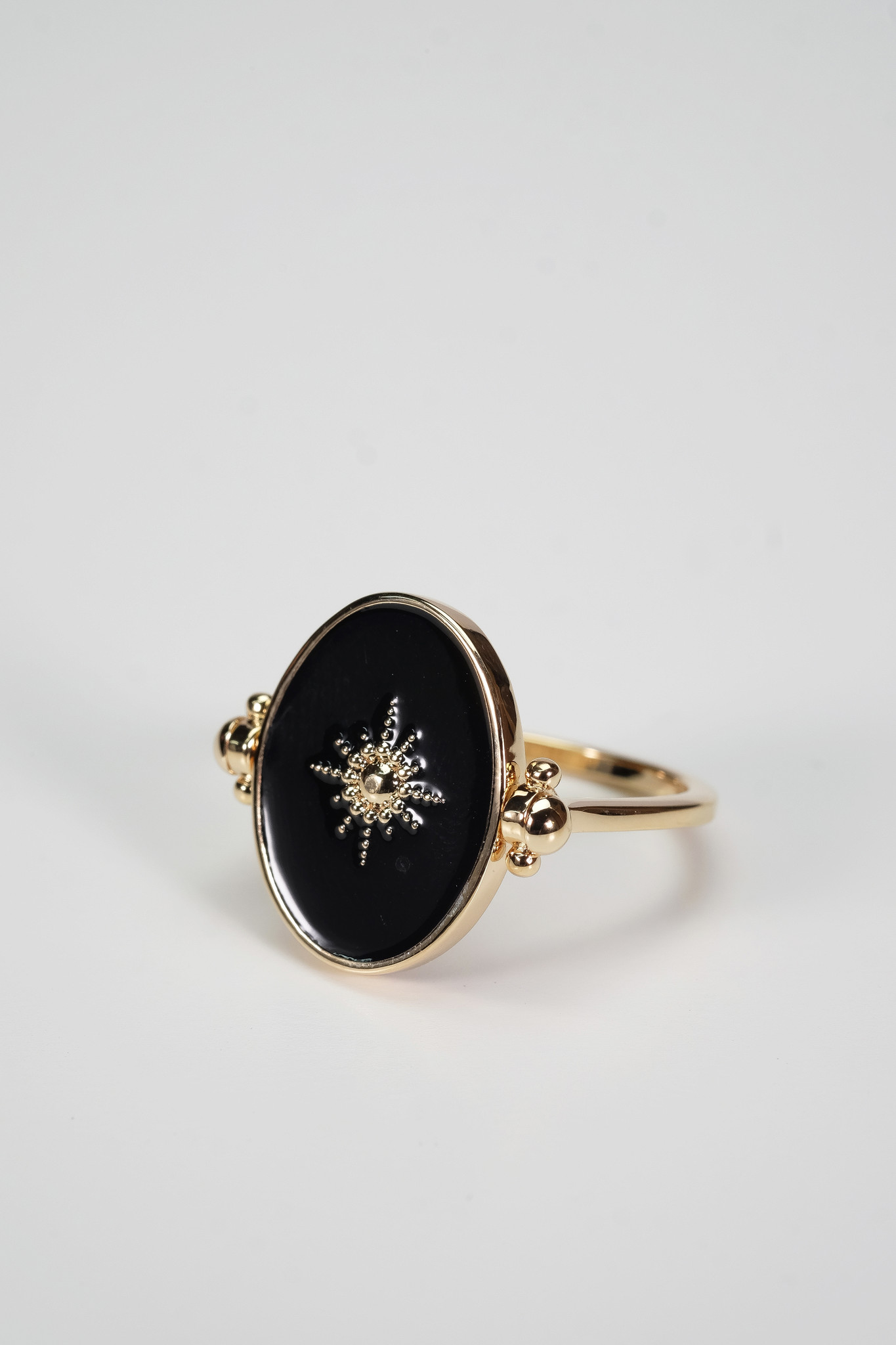 Factory Store Bague Black Star
