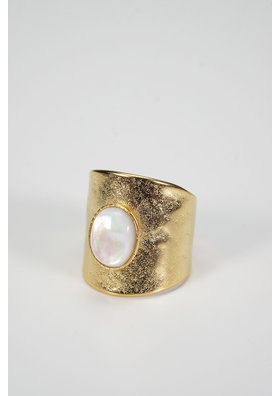 Factory Store White Nuba Ring