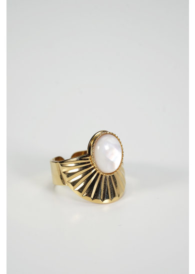 Factory Store Fina White Ring