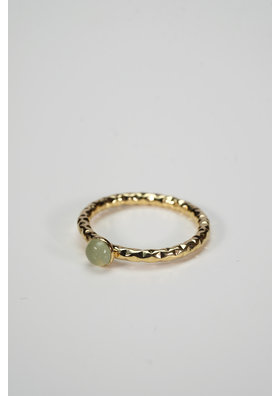 Factory Store Romie Ring Green water
