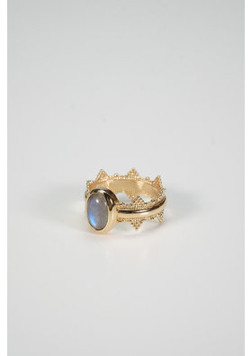 Factory Store Pearl Blue Ring