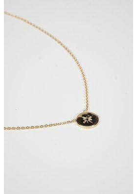 Factory Store Vehla Black Stone Necklace