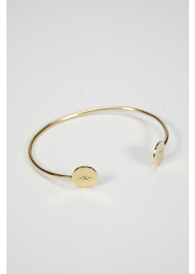 Factory Store Vehla Pierre Blanche bangle