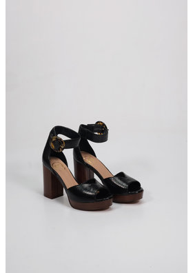 Factory Store Fanny Black Python