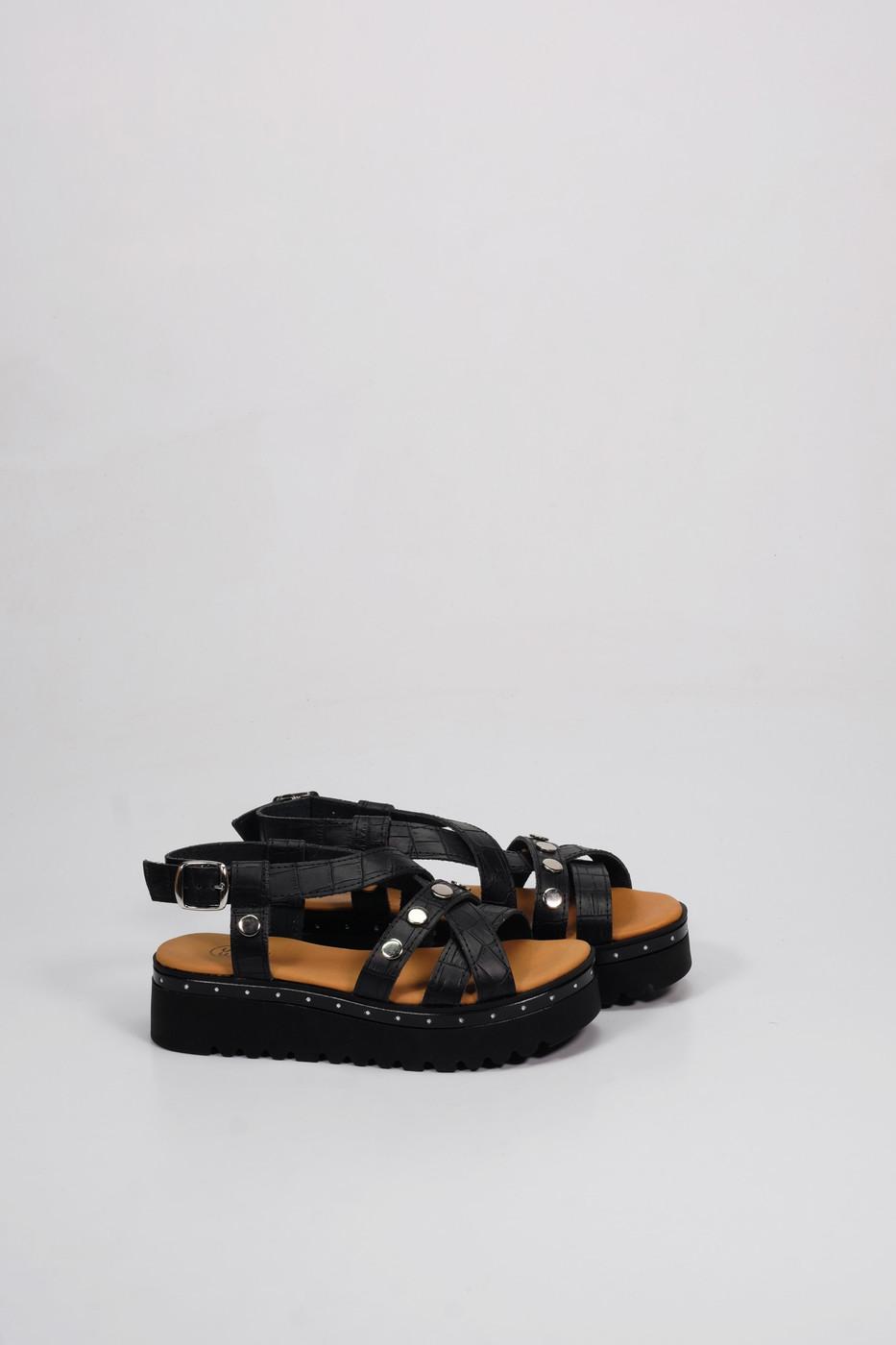 Factory Store Elodie Black croco
