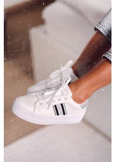 Factory Store Derby White & Silver