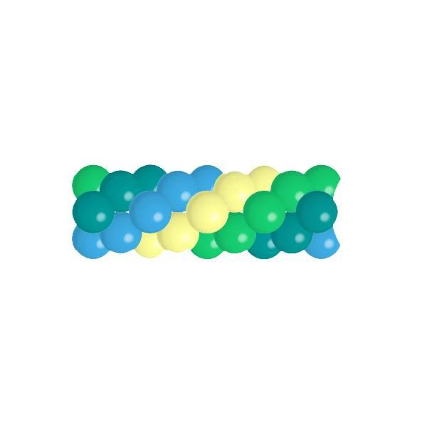 Ballonnenslinger per meter