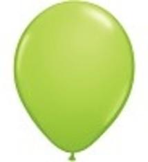 """100 metallic ballonnen 12"""" lime groen"""