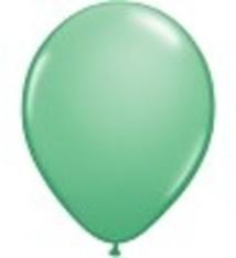 """100 metallic ballonnen 12"""" lichtgroen"""