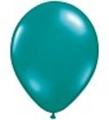 """100 metallic ballonnen 12"""" zeegroen"""