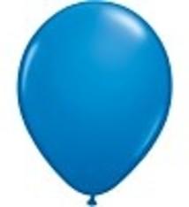 """100 metallic ballonnen 12"""" donkerblauw"""