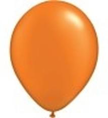 "100 metallic ballonnen 12"" oranje"