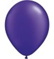 """100 metallic ballonnen 12"""" paars"""