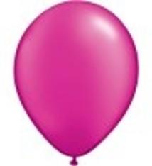"""100 metallic ballonnen 12 """" fuchsia"""