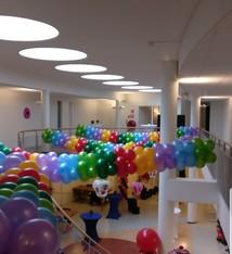 Ballonnen slinger per meter