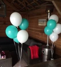 Ballonnen heliumgevuld