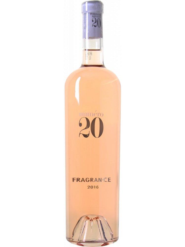 Numéro 20 Rosé Fragrance AOP Coteaux d'Aix en Provence