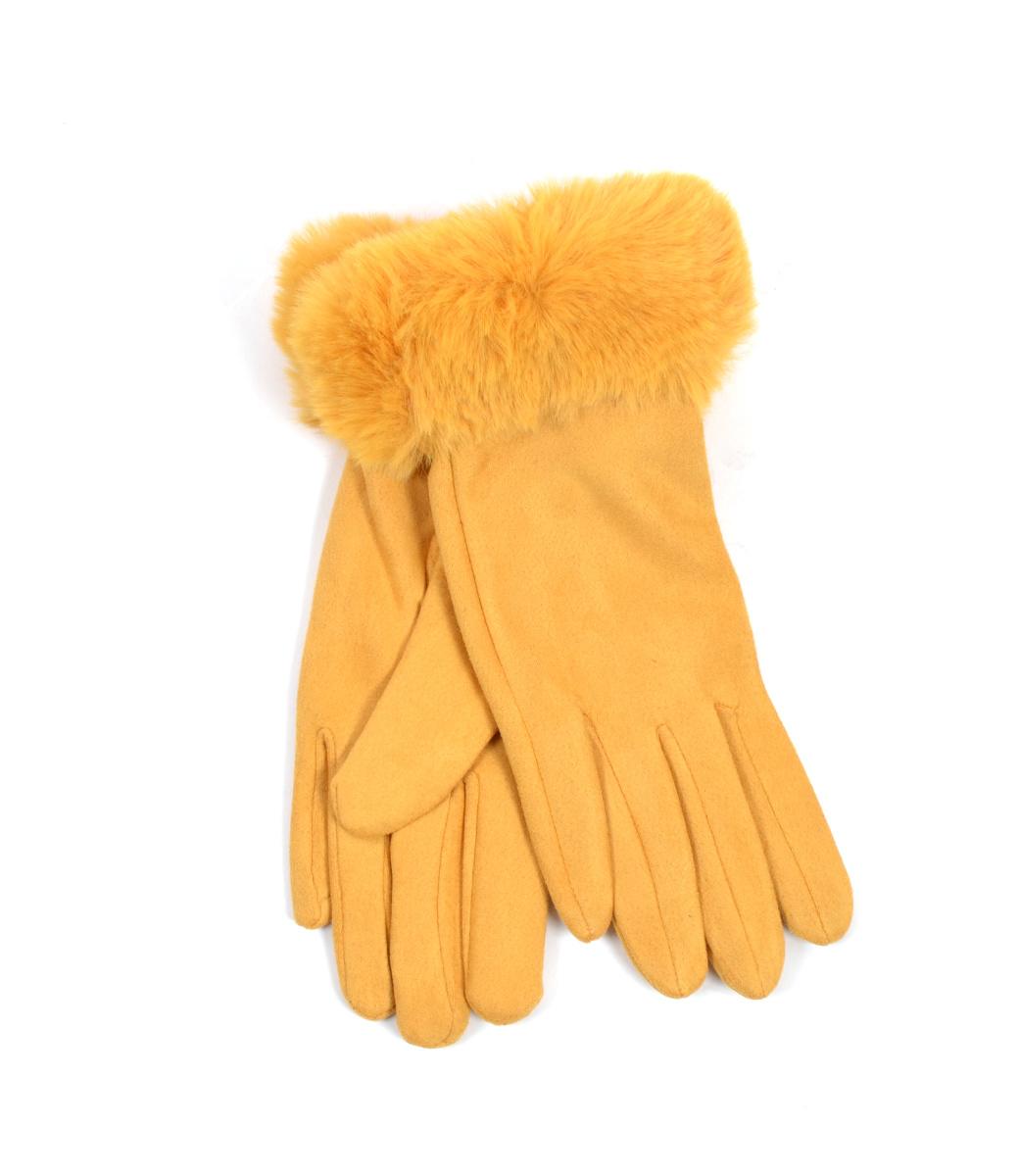 Suèdine handschoenen