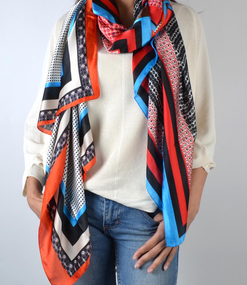 Print sjaal