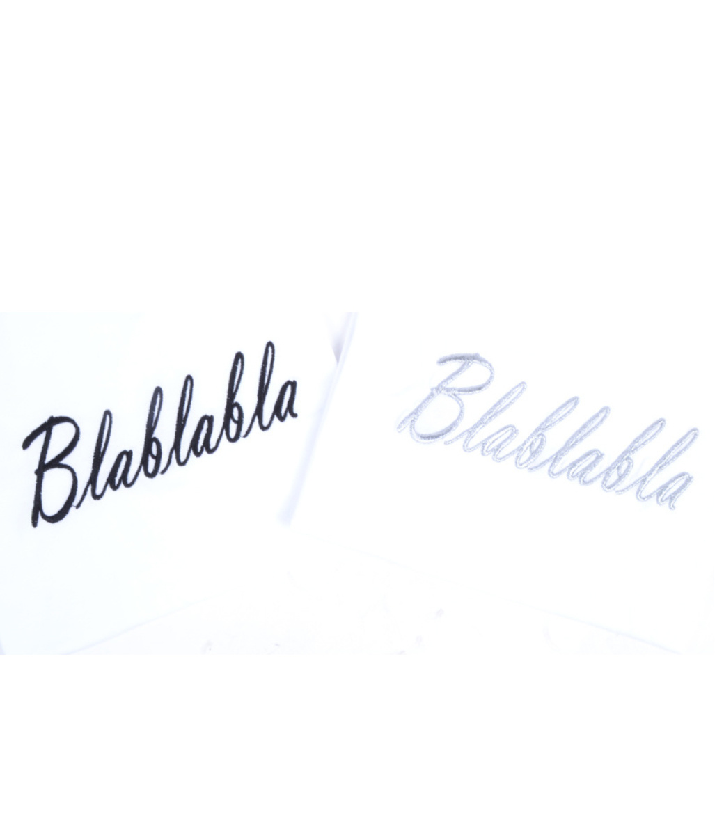Blabla T-shirt ZWART