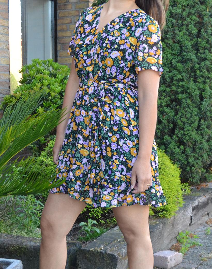 Flora jurk