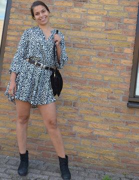 Cheetah jurk