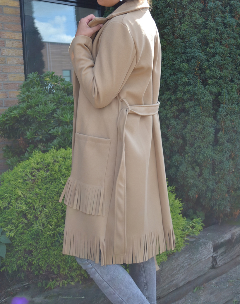 Mantel Franjes