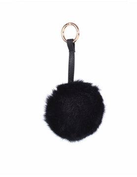 Sleutelhanger faux fur