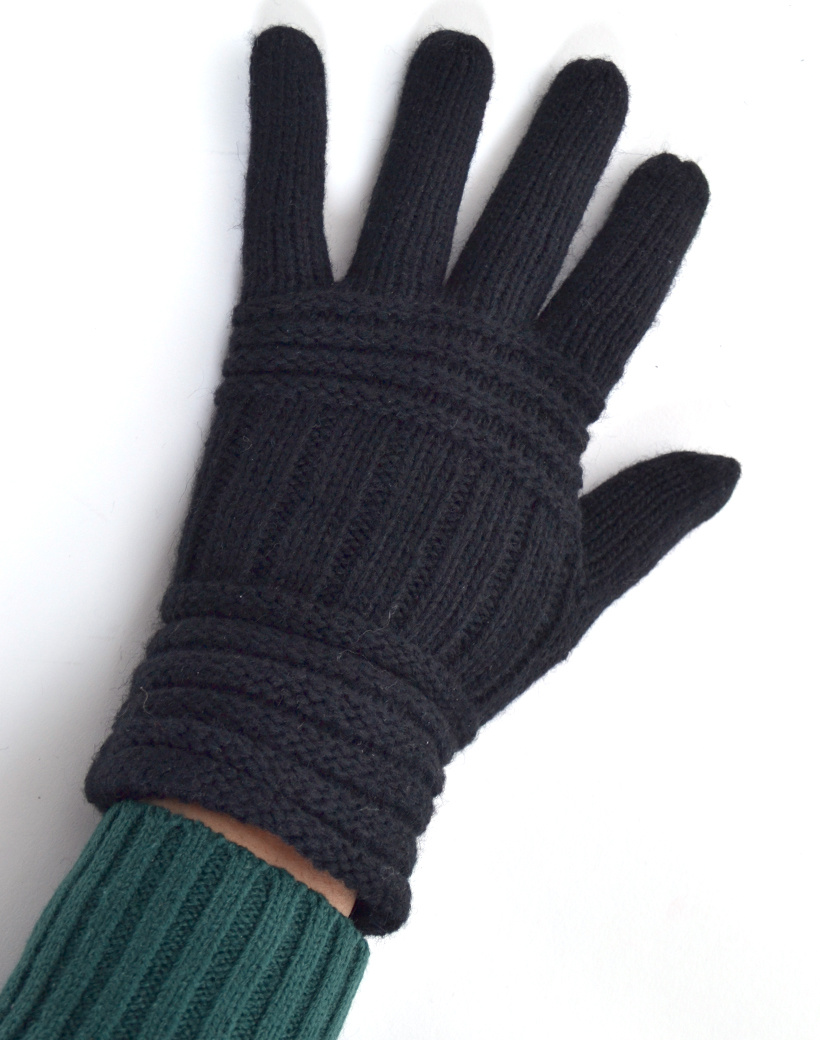 Handschoen streep