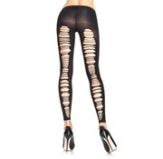 Leg Avenue Opaque Footless Tights