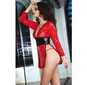 Livia Corsetti Fashion Cauvery Vest - Rood Kant