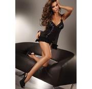 Livia Corsetti Fashion Hianta Babydoll Set - Zwart