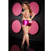 Lapdance Lingerie Twerk It Short - Plus Size - Roze