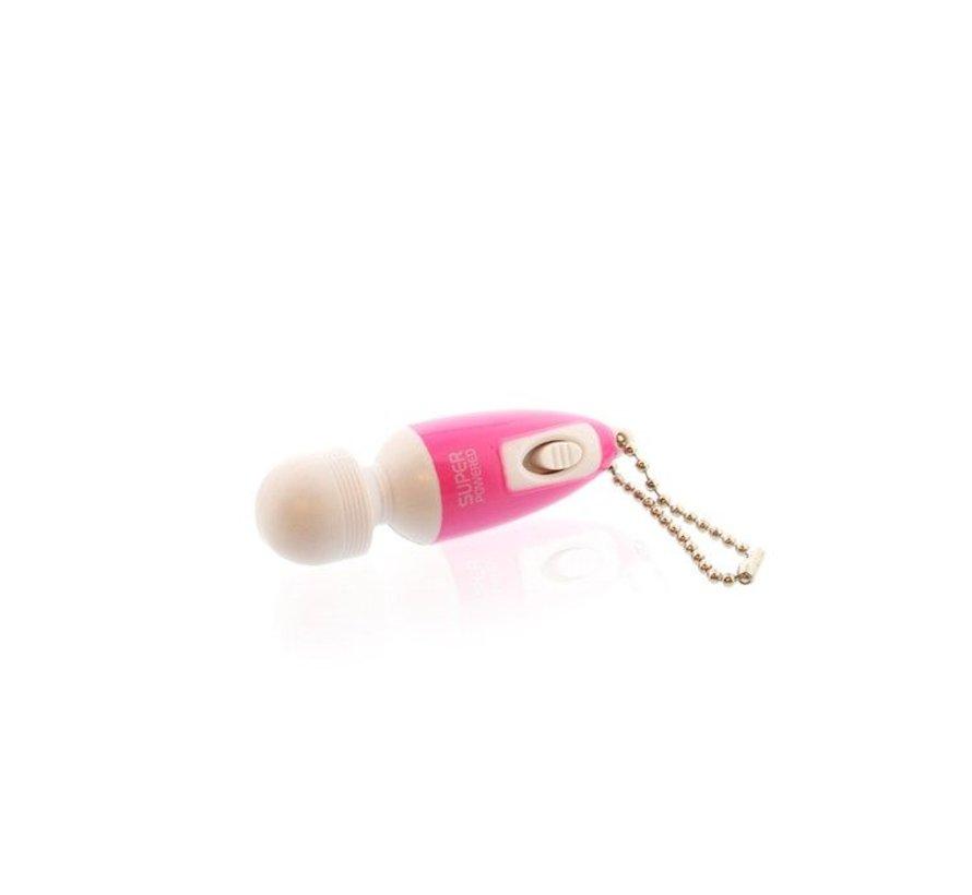 Mini wand vibrator sleutelhanger