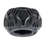 Perfect Fit Tribal Son Ram Ring - Zwart