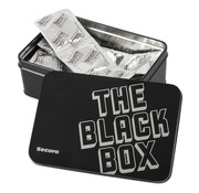 Secura Kondome The Black Box - 50 Genopte Condooms