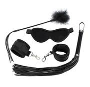 Bad Kitty BDSM 4 delige Set - Black Velvet
